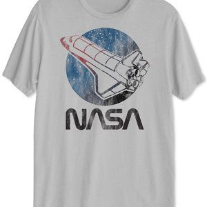 Hybrid NASA Retro Men's Graphic T-Shirt
